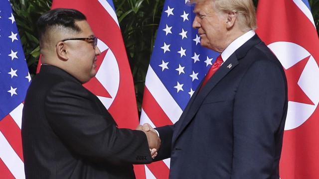 Kim espera reunir-se com Trump em 2019, mas sem sanções