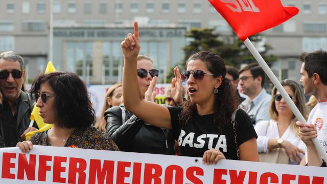 Enfermeiros regressam hoje à greve nacional de seis dias
