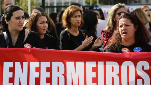Greve de 6 dias chega ao fim com manifestação dos enfermeiros em Lisboa