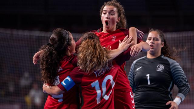 Seleção Nacional feminina conquista ouro nos Jogos Olímpicos da Juventude