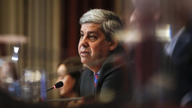 Mário Centeno diz que eleitoralismo do PS foi cumprir todas as metas