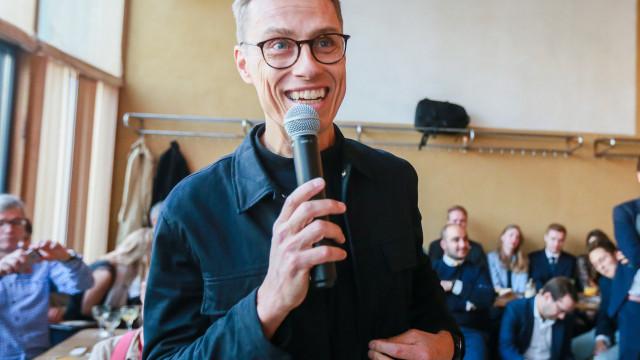 Alex Stubb quer UE a liderar revolução digital