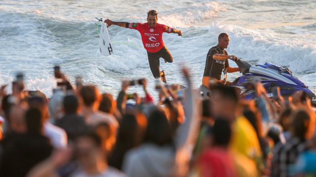 Ítalo Ferreira vence pela primeira vez o Meo Rip Curl Pro Portugal