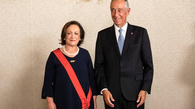 """Marques Vidal foi condecorada como """"é tradicional"""" e escolheu o momento"""