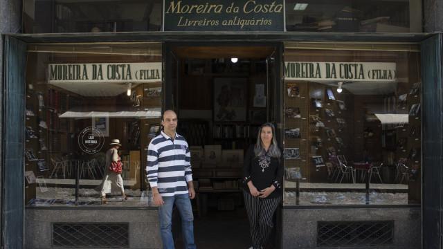 Livraria Moreira da Costa celebra 70 anos no mesmo local