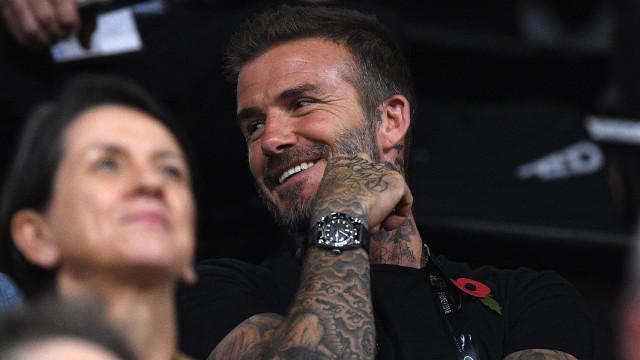 Beckham adquire 10% de clube inglês e junta-se a ex-colegas no United