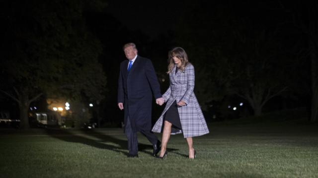 """Trump critica México por não deter """"caravanas"""" com destino aos EUA"""