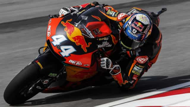 Miguel Oliveira quer despedir-se de Moto2 com título mundial de equipas