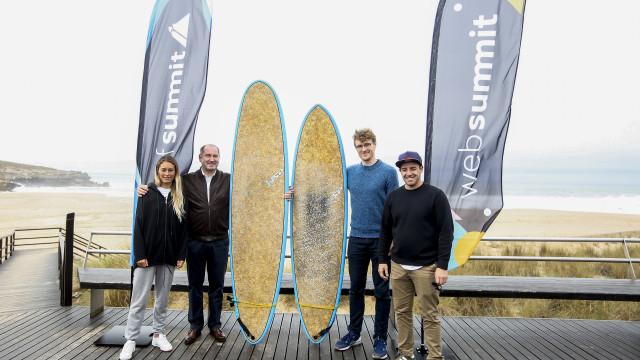 """Participantes da Surf Summit realçam """"condições excecionais"""" da Ericeira"""