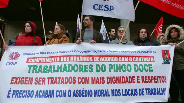 Trabalhadores das lojas Pingo Doce de Lisboa fazem hoje greve