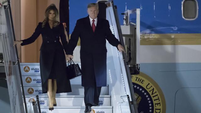 Trump ataca Macron por causa do exército europeu