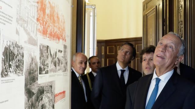 Marcelo participa hoje nas cerimónias dos 100 anos do Armistício