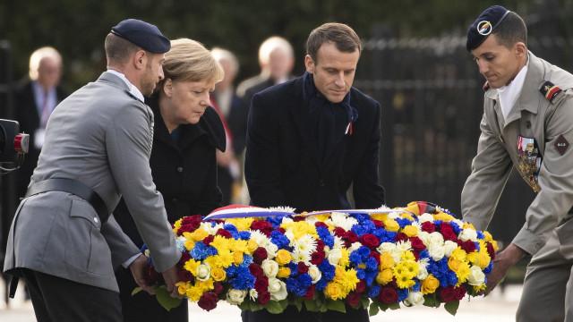 Fórum de Paris para a Paz arranca hoje com 60 chefes de Estado