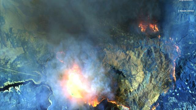 Novo balanço aponta para pelo menos 71 mortos em incêndio na Califórnia