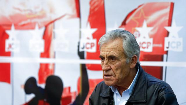 """Jerónimo defende que não houve """"nenhum avanço"""" sem a marca do partido"""