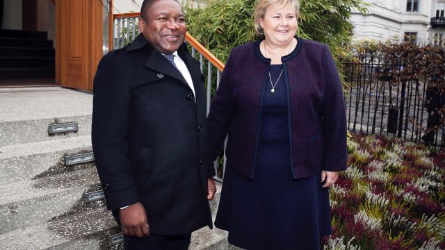 Primeira-ministra norueguesa promete reforço no apoio a Moçambique