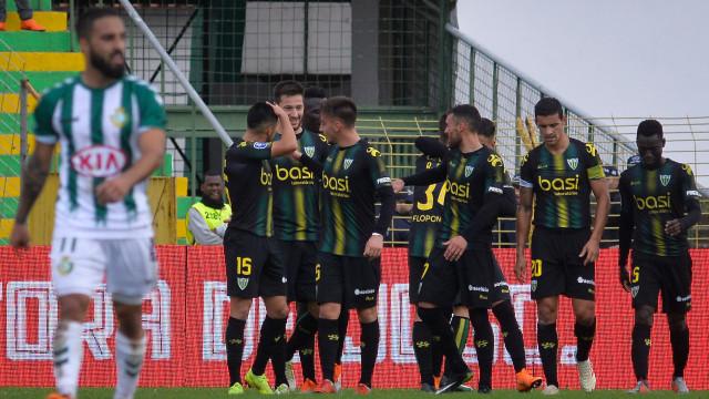 Tondela vence em Setúbal e deixa Braga muito perto da final four