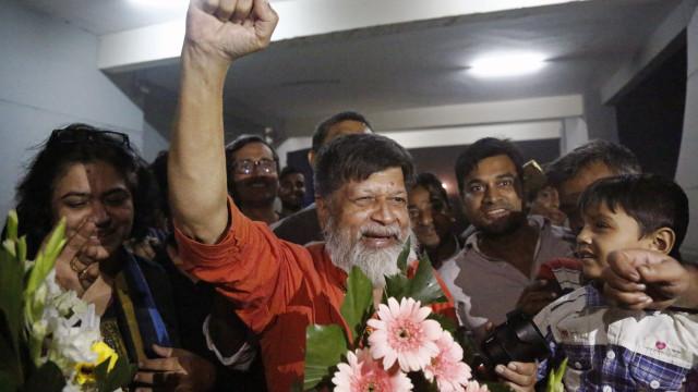 Bangladesh liberta fotojornalista Shahidul Alam