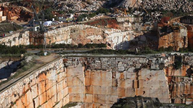 Governo identifica quase duas centenas de pedreiras em situação crítica