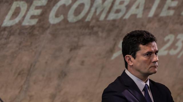 """Sérgio Moro diz que assumiu """"risco"""" pessoal ao aceitar a pasta da Justiça"""