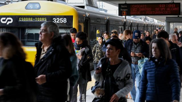 Contrato para compra de novos comboios com prazo de execução de oito anos
