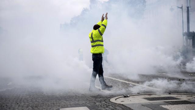 Coletes Amarelos: PSP alerta para condicionamentos de trânsito