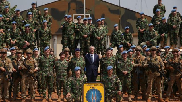"""Missão dos militares portugueses """"é a mais difícil"""" de todas"""