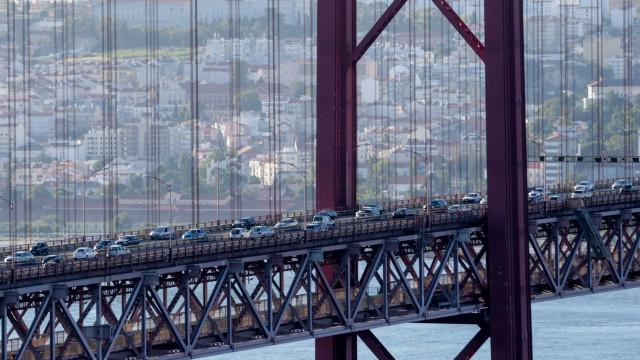 Obras na Ponte 25 de Abril levam a cortes totais entre maio e outubro