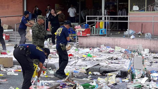 Atentado à bomba nas Filipinas provoca dois mortos e 35 feridos