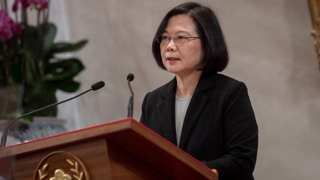 Taiwan pede apoio internacional face à crescente pressão da China
