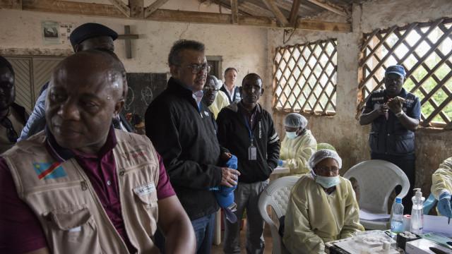Mais de 500 mortos na RDCongo em seis meses devido ao Ébola