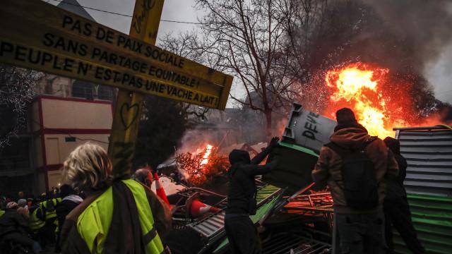 França: Elevado nível de segurança para protetos dos Coletes Amarelos