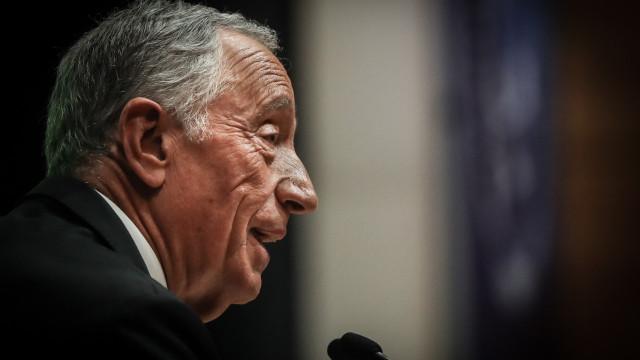 """Marcelo """"segue"""" orientação do Governo sobre representação em posses"""