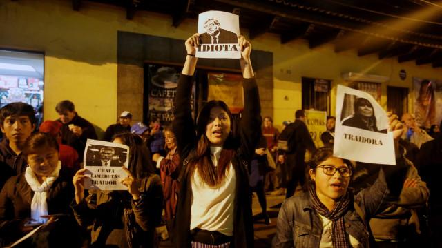 Protestos na Guatemala contra fim da missão anticorrupção da ONU