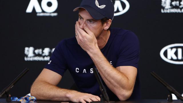 """Andy Murray anuncia  fim da carreira: """"A dor é demasiada"""""""