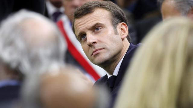 """Líderes europeus reagem, com Macron a colocar """"pressão"""" sobre Reino Unido"""