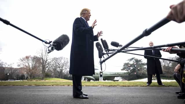 Trump só fará discurso do estado da União quando o 'shutdown' acabar