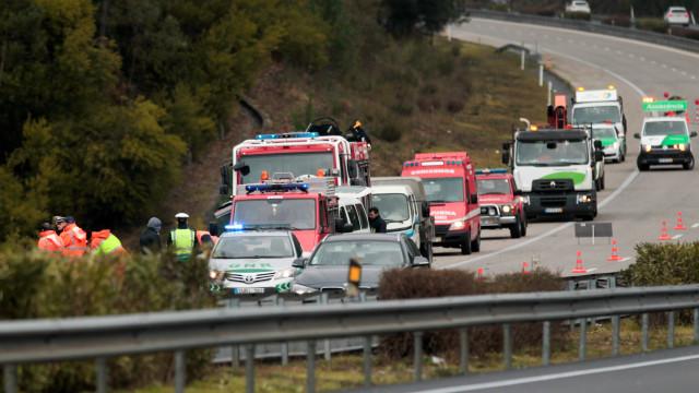 Três dos seis feridos do despiste na A1 ficaram em estado grave