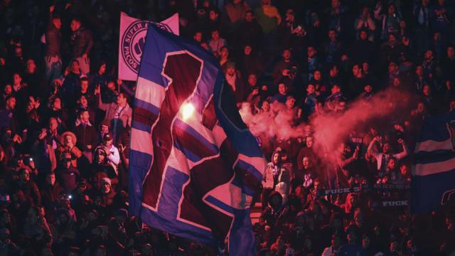 Uma detenção no Benfica-FC Porto por resistência à autoridade