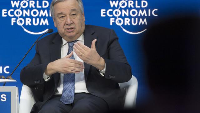 """Guterres reitera oferta de """"bons ofícios"""" em resposta a Guaidó"""