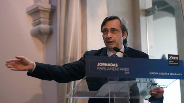 CDS propõe regime de proteção do denunciante para combater corrupção
