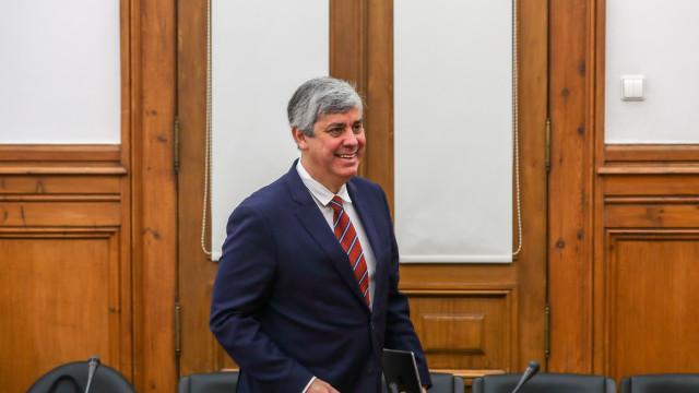 "Centeno anuncia que défice fechou 2018 ""próximo"" de 0,6% do PIB"