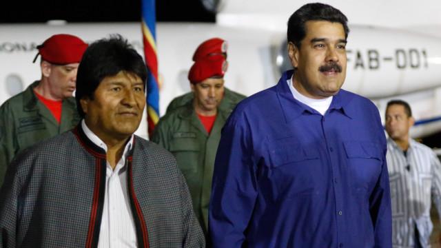 """Maduro denuncia """"uma montagem"""" devido a detenção de jornalistas da EFE"""
