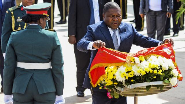 Presidente moçambicano reforça compromisso com a paz efetiva