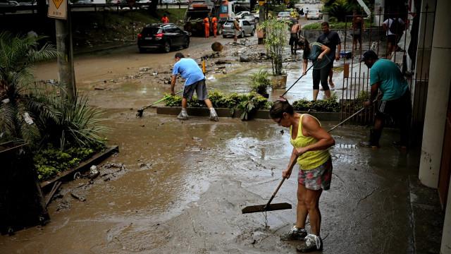 Seis mortos confirmados em temporal que atingiu o Rio de Janeiro