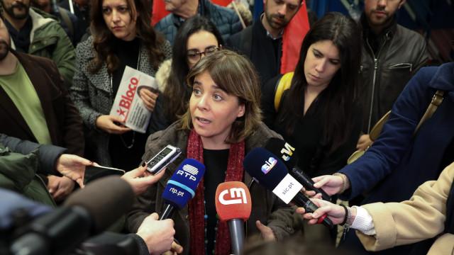 "Saída de militantes? ""Lamentamos sempre"", responde Catarina Martins"