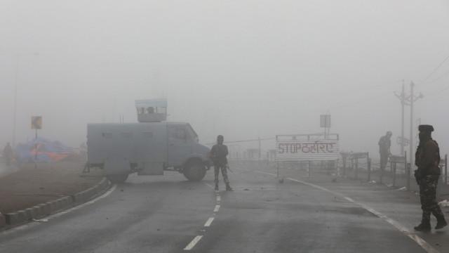 Jovens da Caxemira indiana estão a sofrer agressões em todo o país