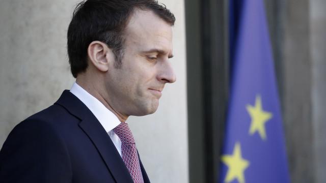 Macron insiste com Putin numa negociação apoiada pela ONU para a Síria