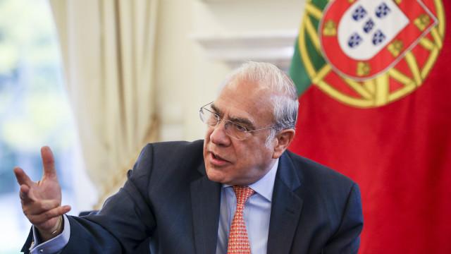 """Governo português """"é quase exceção na Europa"""", afirma Angel Gurría"""