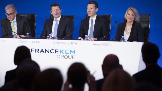 Lucro da Air France-KLM mais do que duplica para 409 milhões em 2018